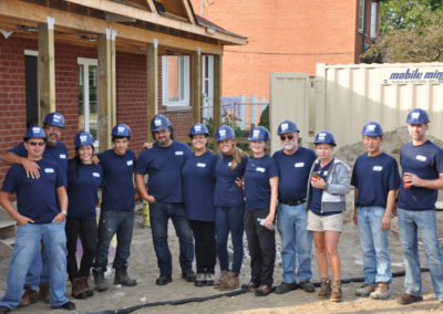 August 2013 – Maxim Group's Adopt-a-Day with Habitat for Humanity Toronto